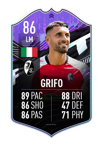 vincenco grifo fifa 21 ultimate team what if