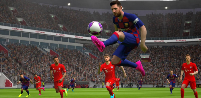 pes messi in game netherlands