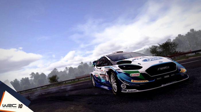 SLIDING ON IN: WRC is all about precise car control