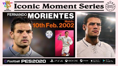 PES 2020 IconicMoment MCB MORIENTES 1