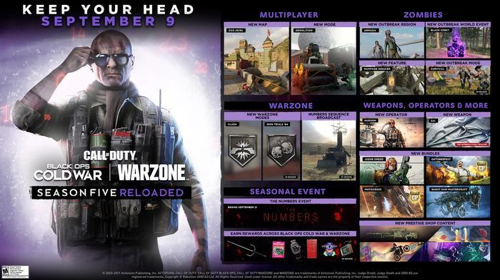 Warzone Black Ops Cold War Hudson Operator