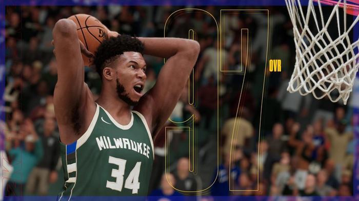 NBA 2K22 ratings giannis antetokounmpo