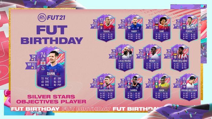 FIFA 21 FUT Birthday Silver Stars Objectives Scott Dann