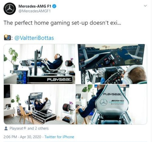bottas sim racing virtual gp