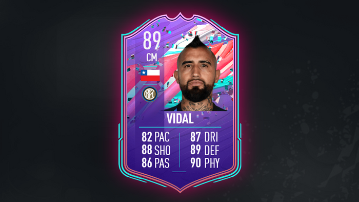 FIFA 21 FUT Birthday SBC Arturo Vidal Ultimate Team