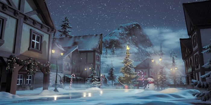 LET IT SNOW: A new Lobby background will be added.