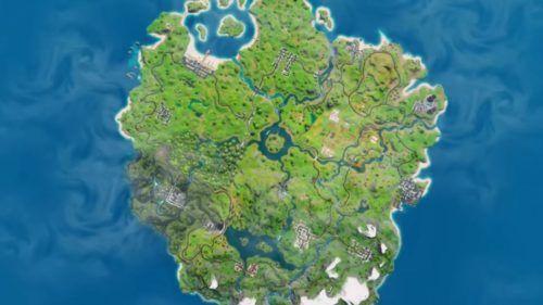 New fortnite map
