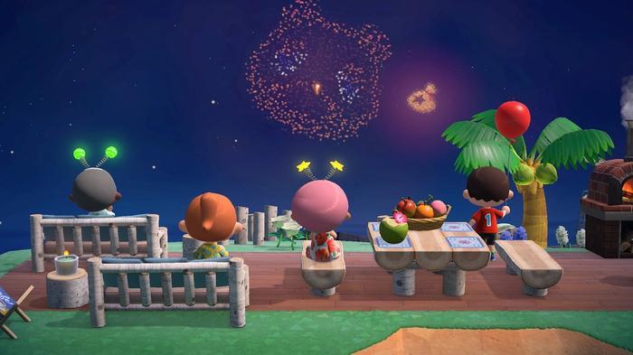Animal Crossing Free July 29 Update Nook Firework