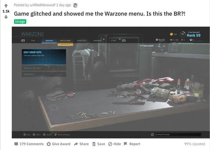 reddit leak call of duty battle royale