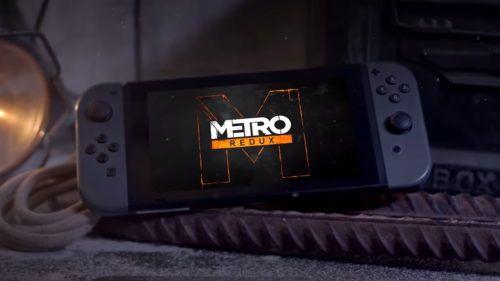 Metro Redux on the Switch
