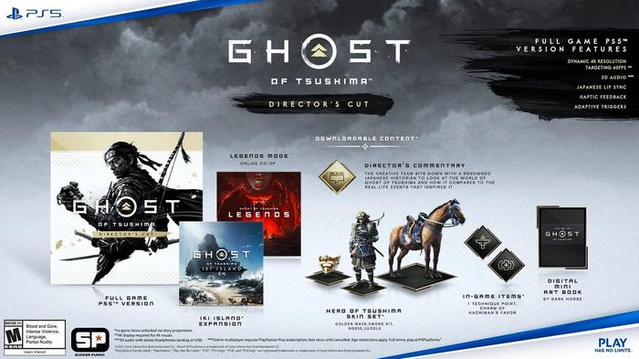 Ghost of Tsushima Director's Cut Price