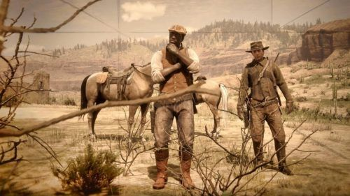 first mission red dead online 2