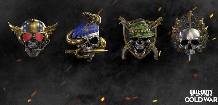 Black Ops Cold War Season 2 Prestige Level Icons