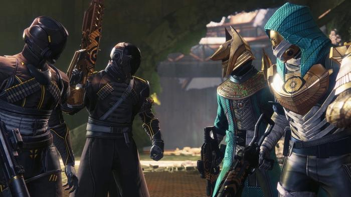 Destiny 2 Trials of Osiris characters stand off