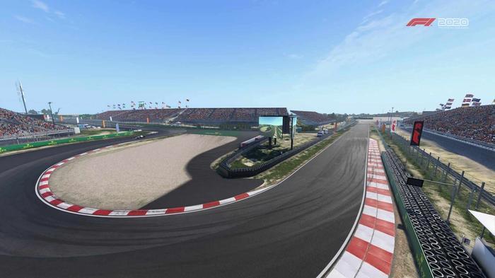 F1 2020 Zandvoort Turns 10 and 11 Y