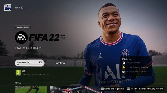FIFA 22 الوصول المبكر