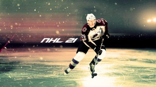 NHL 21 potential cover star Nathan Mackinnon