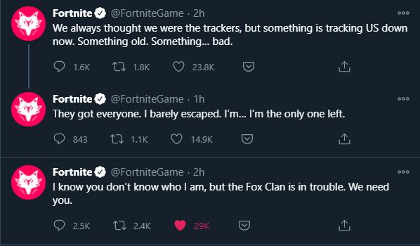 Fortnite Twitter Drift Tweets