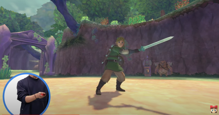 Skyward Sword Switch Joy Con Demo Nintendo Direct