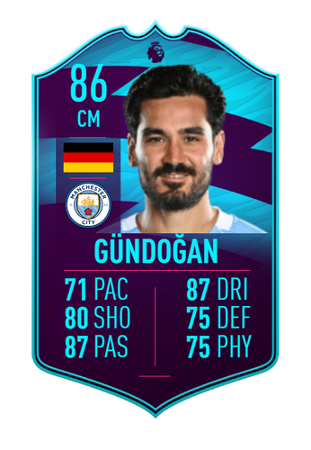 ilkay gundogan premier league player of the month fifa 21 ultimate team