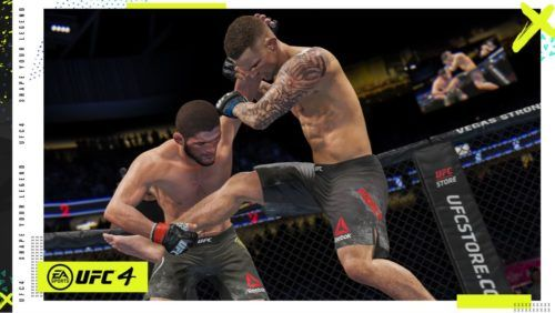 ufc 4 takedown clinch gameplay 1