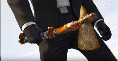 GTA V Online Upgraded Stone Hatchet