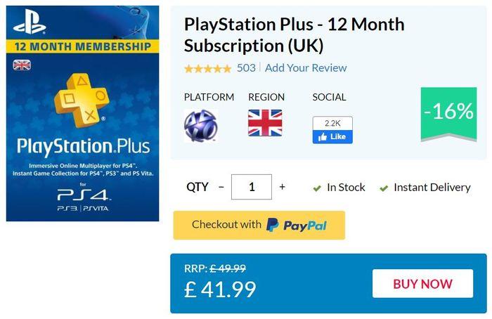 ps plus cheap deal 1