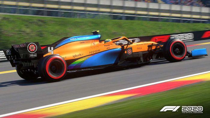 Lando Norris' McLaren in F1 2020