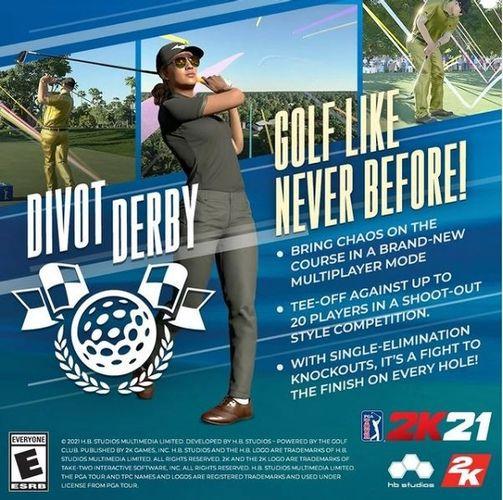 PGA Tour 2K21 Divot Derby Game Mode Rules