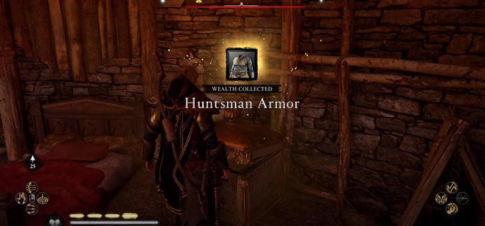 Assassins Creed Valhalla Huntsman Armor Collected