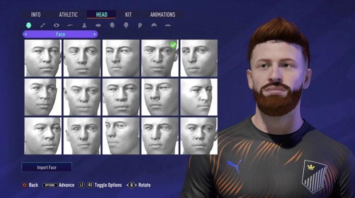 Pro Clubs fifa 21 customize AI
