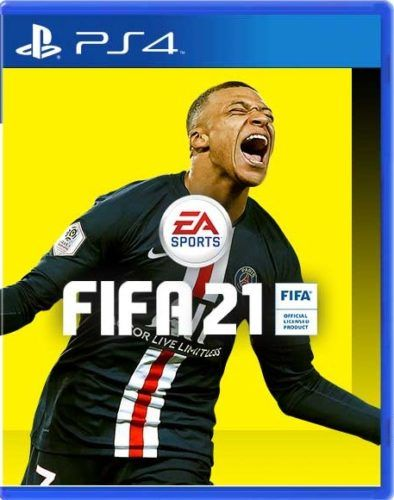 mbappe fifa 21 cover