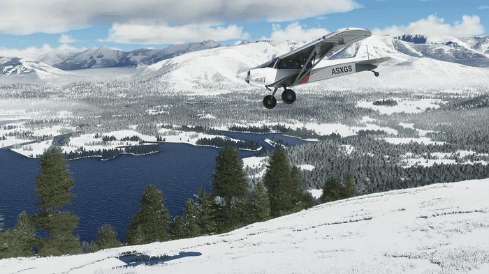 Microsoft Flight Simulator Snow Sim Update 2