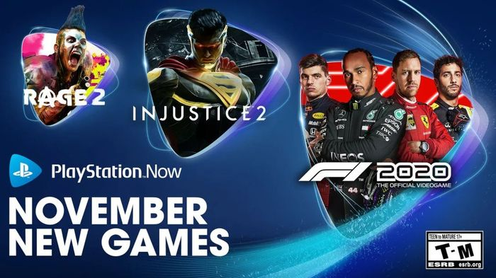 PS Now games November