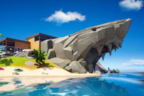Shark location in Fortnite Chapter 2 Season 2