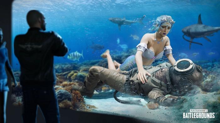 PUBG 12.1 Ocean Fantasy Cosmetics