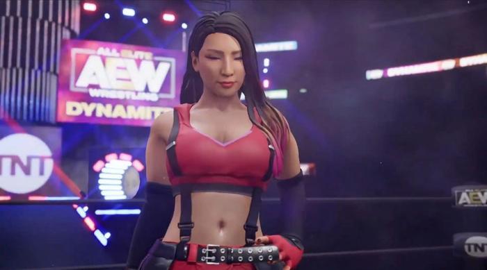AEW video game Hikaru Shida
