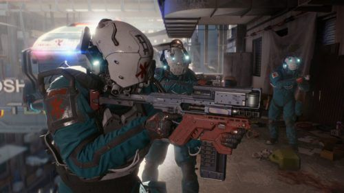 Cyberpunk 2077 new weapons guns