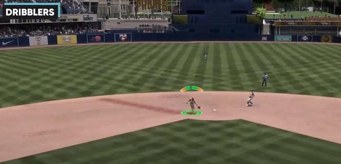MLB The Show 21 fielding catching animations