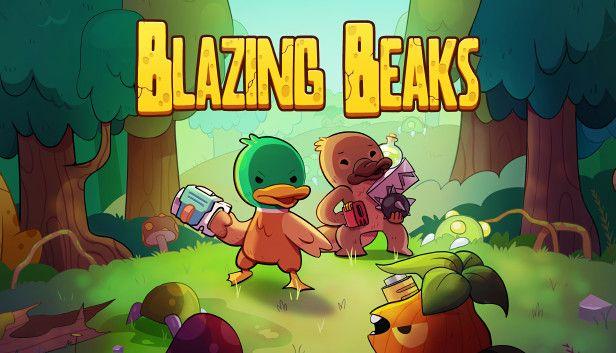Blazing Beaks Key Art