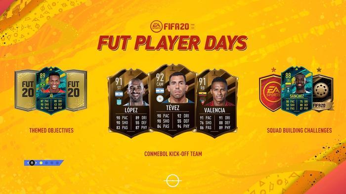 FIFA 19 FUT Player Days ultimate team