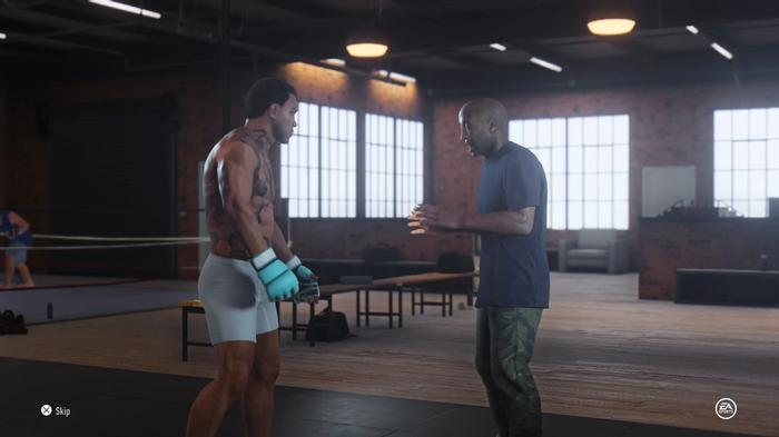 Coach Davis UFC 4