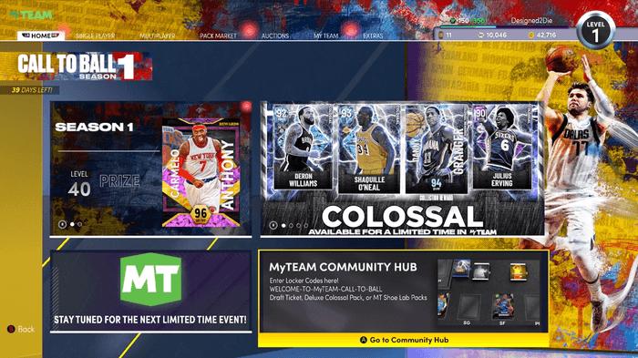 NBA 2K22 locker codes myteam current gen how to