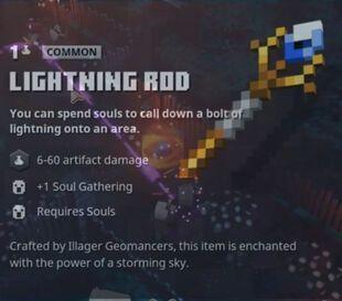 LightningRod Minecraft Dungeons