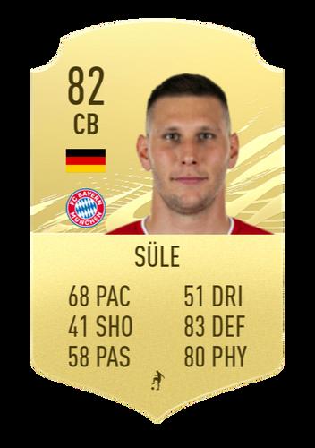Süle's FIFA 22 prediction