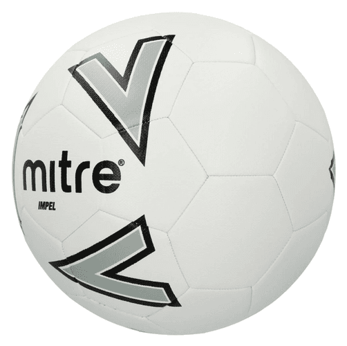 Best footballs Mire product image of a white ball grey arrow details
