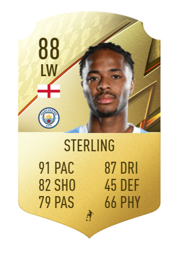 sterling fifa 22