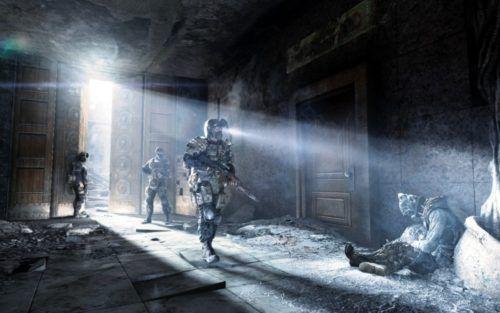 Metro: Last light room exploration