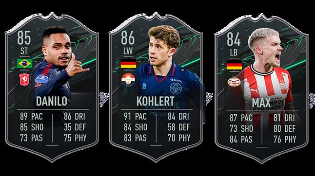 FIFA 21 FUT player card stats