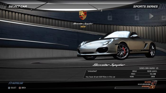Need For Speed™ Hot Pursuit Remastered porsche boxter spyder